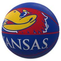 University of Kansas Mascot Official-Size Rubber Basketball