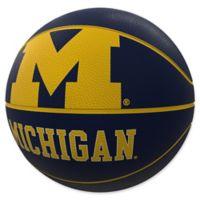 University of Michigan Mascot Official-Size Rubber Basketball
