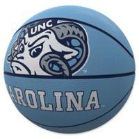 University of North Carolina Mascot Official-Size Rubber Basketball