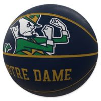 University of Notre Dame Mascot Official-Size Rubber Basketball
