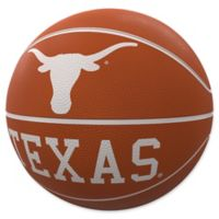 University of Texas at Austin Mascot Official-Size Rubber Basketball
