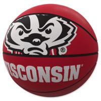 University of Wisconsin Mascot Official-Size Rubber Basketball