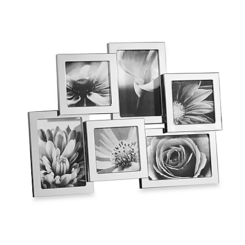 Towle® Silver-Plated 6-Opening Collage Frame - Bed Bath & Beyond