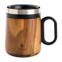 Manna™ Chalet 11 oz. Travel Mug in Acacia Wood