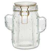 Global Amici Stainless Steel Canister in Glass