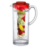 Prodyne 60 oz. Fruit Infusion Pitcher in Red