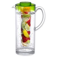 Prodyne 60 oz. Fruit Infusion Pitcher in Clear/Green