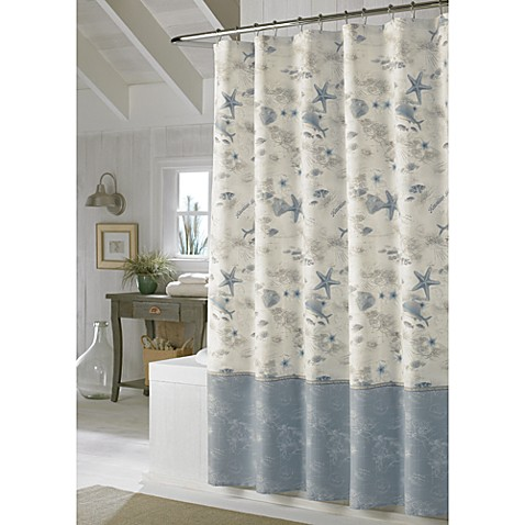 Tommy Bahama 72 Inch X Hawaiian Islands Shower Curtain