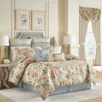 Croscill® Carlotta King Comforter Set in Taupe