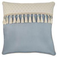 Croscill® Carlotta European Throw Pillow in Taupe