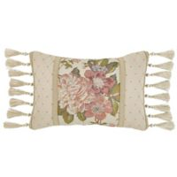 Croscill® Carlotta Oblong Throw Pillow in Taupe