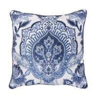 Croscill© Leland 18-Inch Square Throw Pillow in Navy