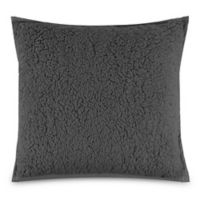 UGG® Classic Sherpa Square Throw Pillow in Metal