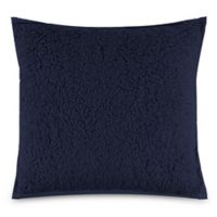 UGG® Classic Sherpa Square Throw Pillow in Navy
