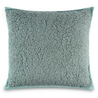 UGG® Classic Sherpa Square Throw Pillow in Sea Green