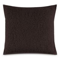 UGG® Classic Sherpa Square Throw Pillow in Chocolate