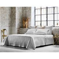 Frette At Home Vertical King Coverlet in White