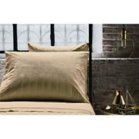Frette At Home Vertical Standard Pillowcases in Stone (Set of 2)