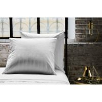 Frette At Home Vertical European Pillow Sham in White