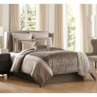 Janella 10-Piece Queen Comforter Set in Grey/Taupe
