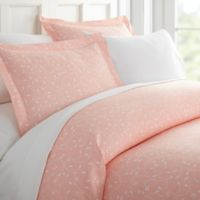 Home Collection Buds Full/Queen Duvet Cover Set in Pink
