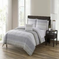 Nile 12-Piece Reversible King Comforter Set in Neutral