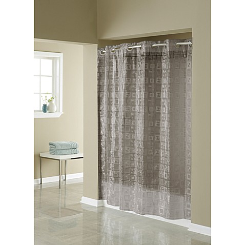 Hookless 174 3d Smoke Puzzle 71 Inch W X 74 Inch L Shower