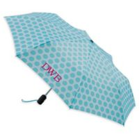 totes® French Circle Umbrella in Light Blue