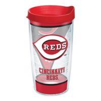Tervis® MLB Cincinnati Reds Batter Up 16 oz. Wrap Tumbler with Lid