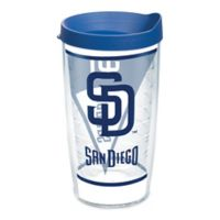 Tervis® MLB San Diego Padres Batter Up 16 oz. Wrap Tumbler with Lid