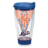 Tervis® MLB New York Mets Batter Up 24 oz. Wrap Tumbler with Lid