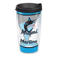 Tervis® MLB Miami Marlins Batter Up 16 oz. Wrap Tumbler with Lid
