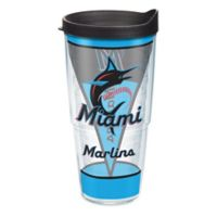 Tervis® MLB Miami Marlins Batter Up 24 oz. Wrap Tumbler with Lid