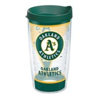 Tervis® MLB Oakland Athletics Batter Up 16 oz. Wrap Tumbler with Lid