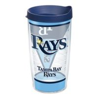 Tervis® MLB Tampa Bay Rays Batter Up 16 oz. Wrap Tumbler with Lid