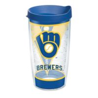 Tervis® MLB Milwaukee Brewers Batter Up 16 oz. Wrap Tumbler with Lid