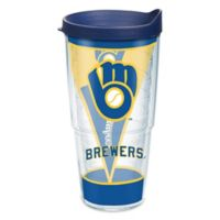 Tervis® MLB Milwaukee Brewers Batter Up 24 oz. Wrap Tumbler with Lid
