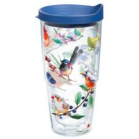 Tervis® Watercolor Songbirds 24 oz. Wrap Tumbler with Lid in Clear