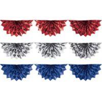 Creative Converting 3-Piece Patriotic Foil Bunting Decorating Kit