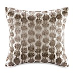 Echo™ Odyssey Square Throw Pillow in Brown/Ivory