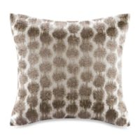 Echo Design™ Odyssey Square Throw Pillow in Brown/Ivory