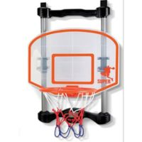 The 2-in-1 Over the Door Basketball and Boxing Combo with Clear Backboard