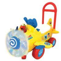 Sesame Street Elmo's Plane Light and Sound Ride-On