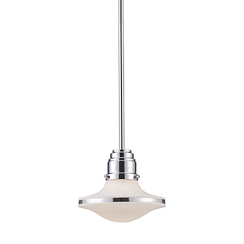 ELK Lighting Retrospective Polished Chrome 1-Light Pendant