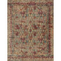 Loloi Rugs Javari 12' x 15' Area Rug in Slate/Berry