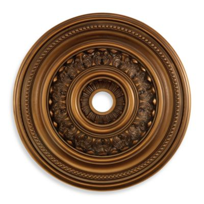 ELK Lighting English Study 32 Inch Ceiling Medallion In Antique Bronze