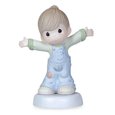 Precious Moments® I Love You This Much Boy Porcelain Figurine