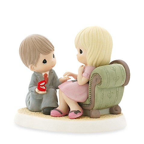 Precious Moments® Will You Share Your Heart with Me? Porcelain Figurine