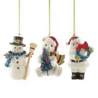 Lenox® Winter Wonderland Christmas Ornaments (Set of 3)