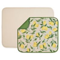 The Original™ 2-Piece Value Pack Dish Mats in Lemon/Cream